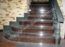 Низькі ціни на гранітні сходи у Львові