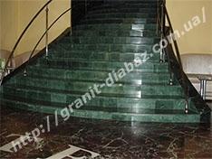 Виготовлення гранітних сходів