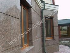 гранітний фасад ціна