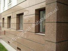 фасади з граніту