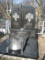 пам'ятники гранітні двійні