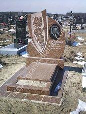 пам'ятники з комбінованого граніту