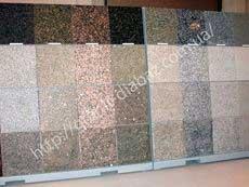 поліровані гранітні плити