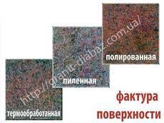 термооброблені гранітні плити