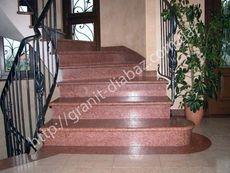 гранітні сходи термічні